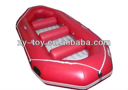 Hot sale lake fishing use PVC inflatable boat