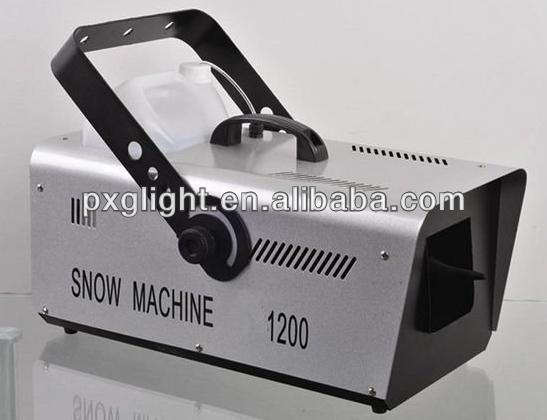 dmx snow machine 1200w (S-DMX1200)