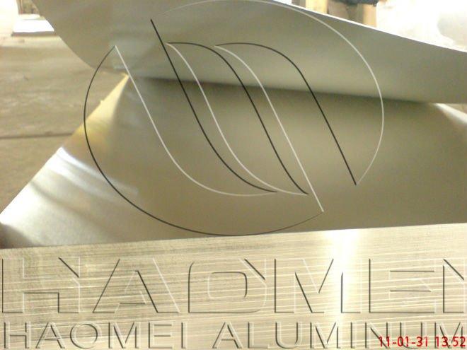 Finished products of aluminium sheet