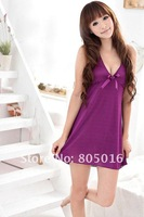 Сексуальная ночная сорочка Women Sexy Dress Lingerie Costume Sexy Underwear Sleepwear