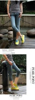 Женские кроссовки Special offer2013 new heavy-bottomed leather sports forrest Gump shoes, women casual summer fashion woman running shoes mesh