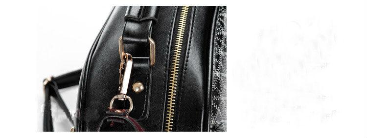 Free Shipping 1PCS Korea Style PU Leather Colt Horse Satchel Shoulder