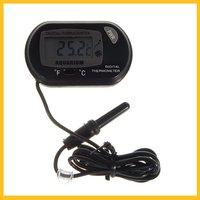 Free Shipping New LCD Digital Fish Tank Aquarium Water Marine Thermometer  ZS01073