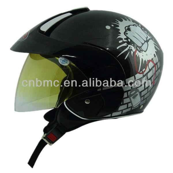 M208B kids half shell motorcycle helmet