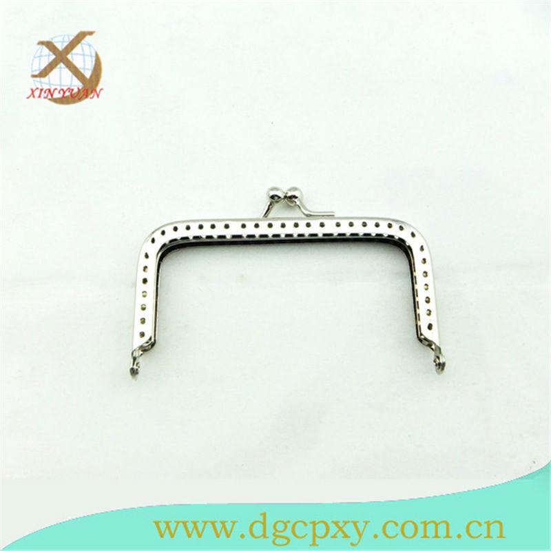 nickel free kiss lock metal money clip for DIY purses wallets