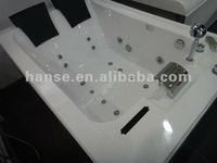 Ванны и Джакузи couple glass roomy massage bathtub HS-B287