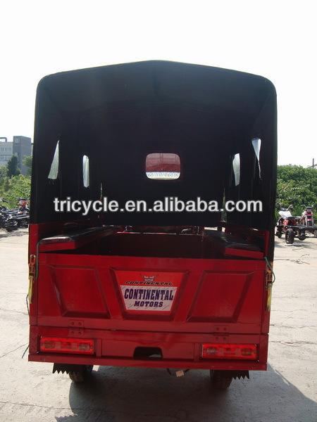 semi-cabin 250CC China 3 wheel motor tricycle