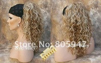 wavy hair wig wigs ponytail Extensions hair piece 10pcs/lot