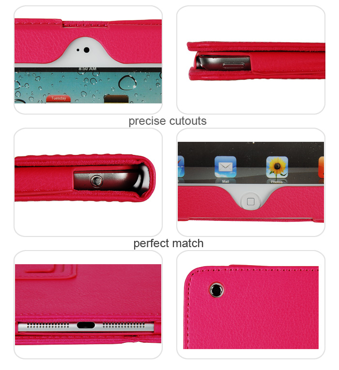 Professional suppliers for ipad leather case with stand