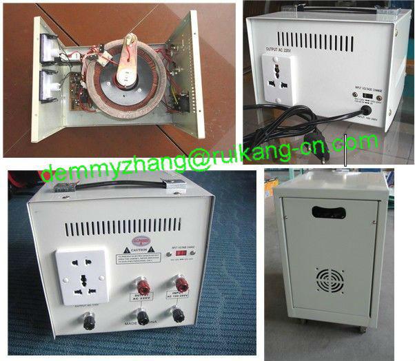 Automático de tensão estabilizador de 80% de energia, 5KW regulador de tensão monofásico, Elétrica poder estabilizador 220 V