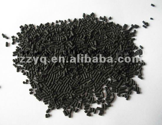 pellet activated carbon for solvent (hexane) adsortion