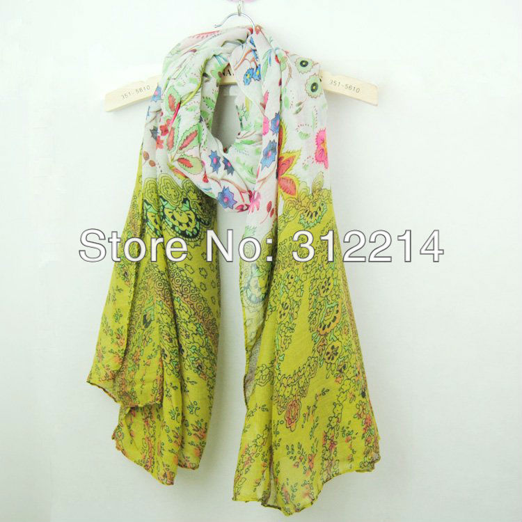 fashion cotton voile scarf 401