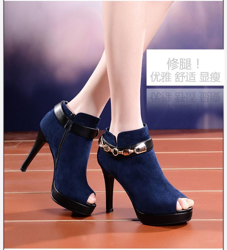 Туфли на высоком каблуке  WS018