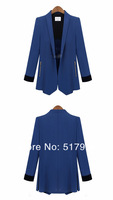 Женский костюм с юбкой 2013 fashion plus size clothing women's blazer ol slim blazer Suit outerwear female autumn women fashion Suit jacket