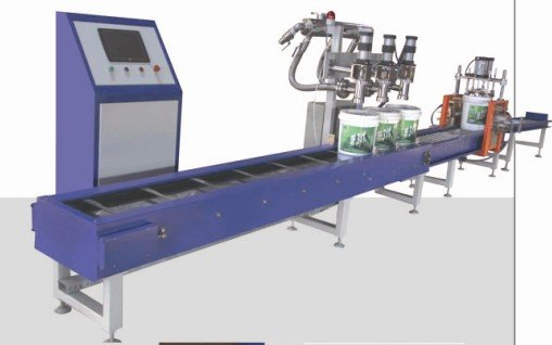 doule heads semi-auto filling machine for liquid material