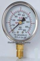 Манометр Dial diameter: 60mm 0-6Mpa stainless steel Pressure gauge copper connector, copper cassette mechanism