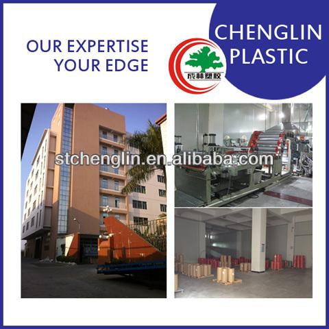Reciclável safe FOOD grade rígida PVC transparente filme rígida para embalagens de alimentos