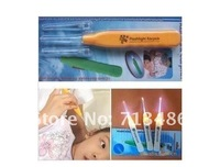 Free shipping, 5pcs/lot Glowing ear pick,11.5cm multiple use ear digger, alibaba express 2012 innovative items