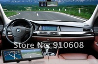 4.3 Inch Rearview Mirror Audio Player Video Player GPS Navigator