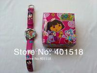 Дора Часы Детские детей мультфильм наручные часы с giftbox