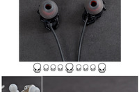 Потребительская электроника ULDUM selling metal DJ earphones with microphone for