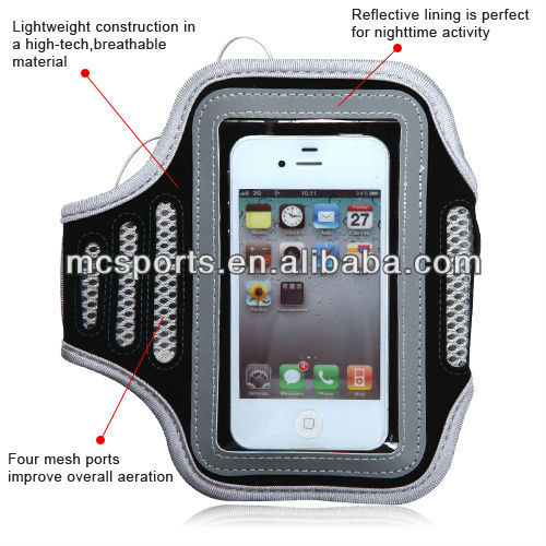 Patented armband Safety anti dust plug for phone