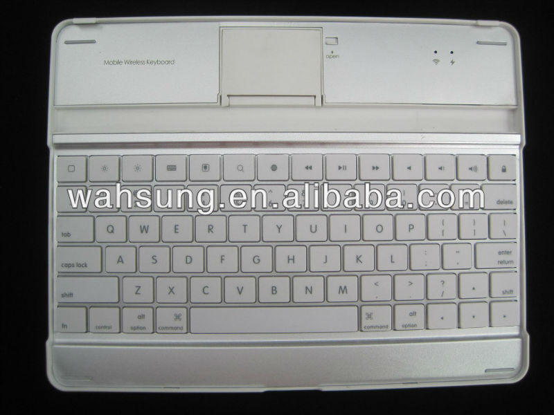 aluminium bluetooth keyboard for ipad 4