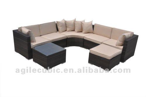 10005 Luxury Wicker Outside Furniture