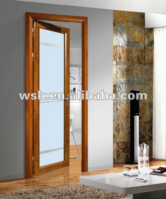 Puertas De Aluminio Blanco Para Baño:de aluminio para la puerta del baño-Puerta-Identificación del