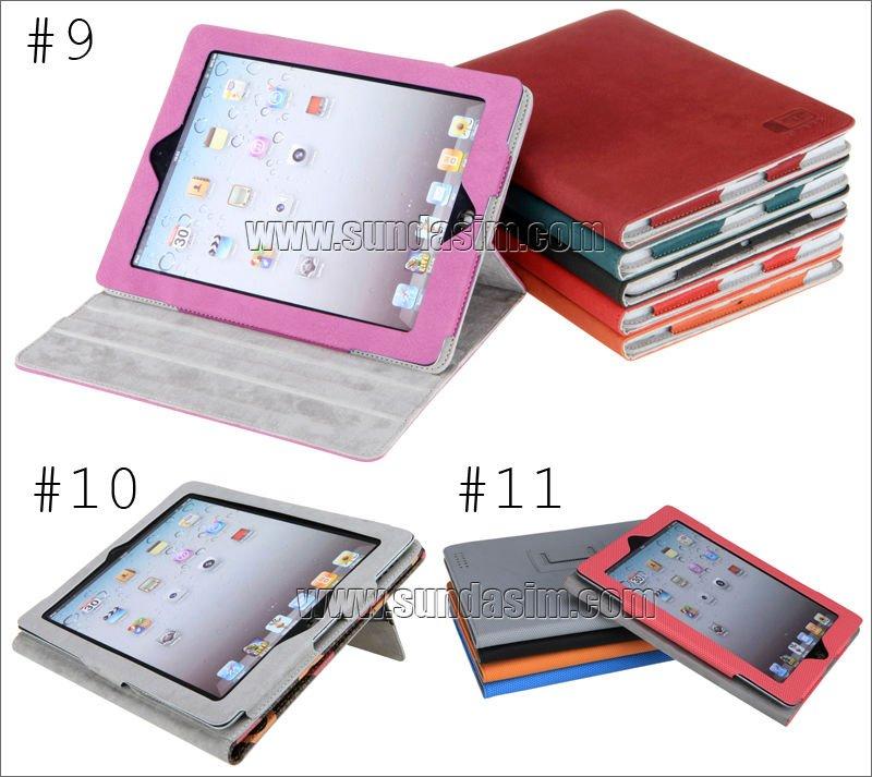 colorful pu case for mini ipad