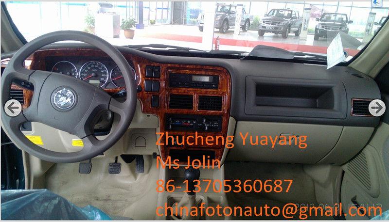 Double Cabin 4*2wd LHD Diesel Foton SUP T Pickup