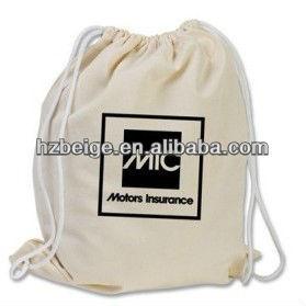 Advertisement cloth bag Drawstring Canvas Bag