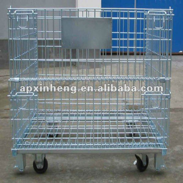 galvanized metal folding cages for dog