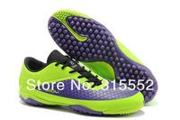 Мужские ботинки New Arrived HyperVenom TF Soccer Shoes, Turf Soccer Boots, Football Cleats 4Colors
