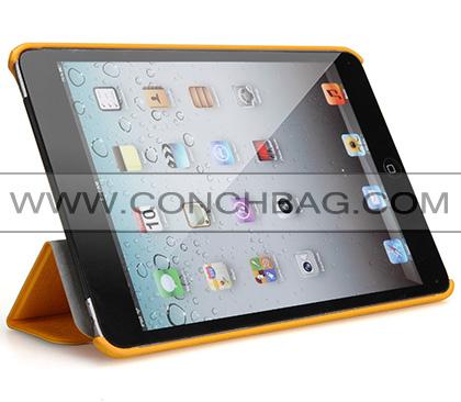 Ultra-thin 0.9cm thickness hybrid pattern multi colors protective case for ipad mini retina