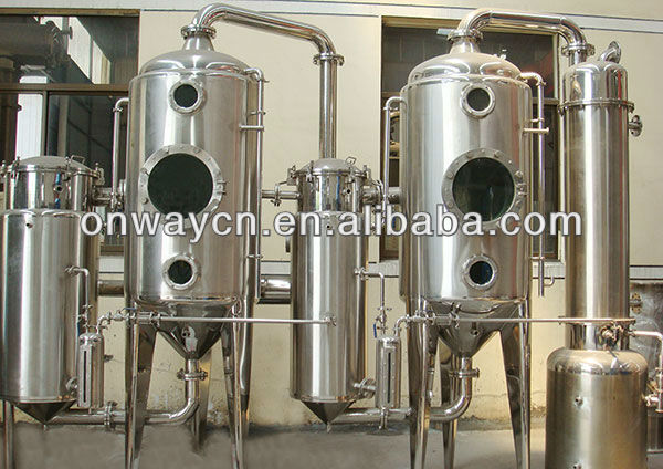 WZD Efficient and energy saving double distillation equipment