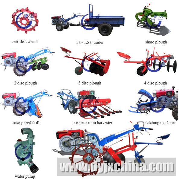 Tiller Tractor Hand Tractor Power Tiller