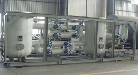 small size standardized liquid air separation plant