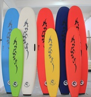 Free shipping 8 feet Soft Surfboard Beginner Foam Long Surf Board Pin tail Profession Ocean Surfboard