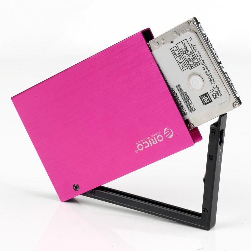 Colorful 2.5 '' SATA HDD/SSD Exteranl Enclosure aluminum hdd case