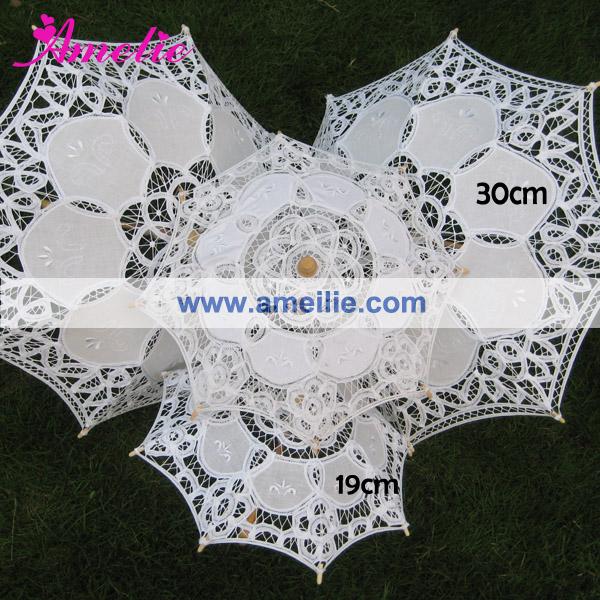 Baby shower decoration kid\'s lace parasol (2).jpg