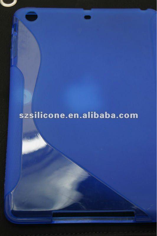 2013 new come tpu smart case silicone for ipad mini