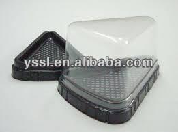 clear plastic disposable pet food container