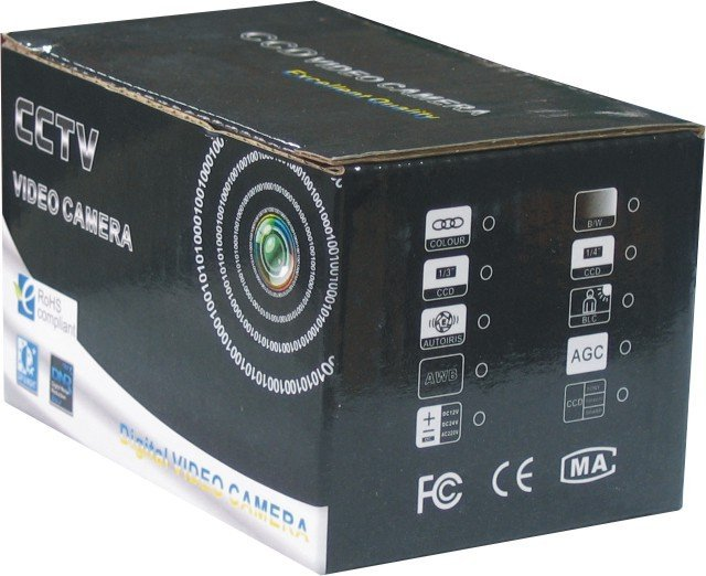 mini cctv camera packing box