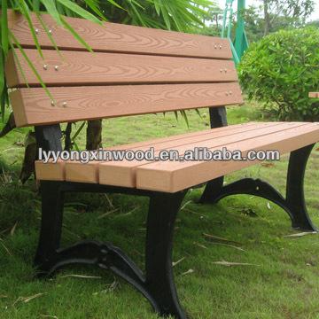 엔지니어링 나무 의자, 방수, 안티 균열 저렴한 정원 벤치 wpc ...