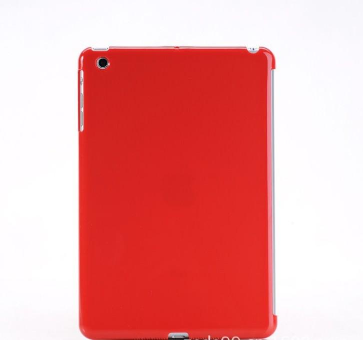hi-quality transparent pc hard case for ipad mini