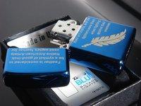 blule Зажигалки курительные контракт моды лист материала стальной пластины z-50