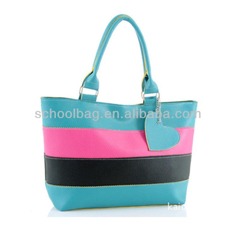 2014 China factory fashion lady korean hobo handbag