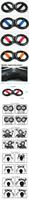 Напольный диск для талии и боков High quality! 8 font Wrist Exerciser Powerball wrist ball wrist device Bili fingers! Training equipment