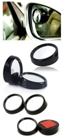 2x Blind Spot 360 Rear View Mirror Rearview For Car Auto Vehicle Black A1440